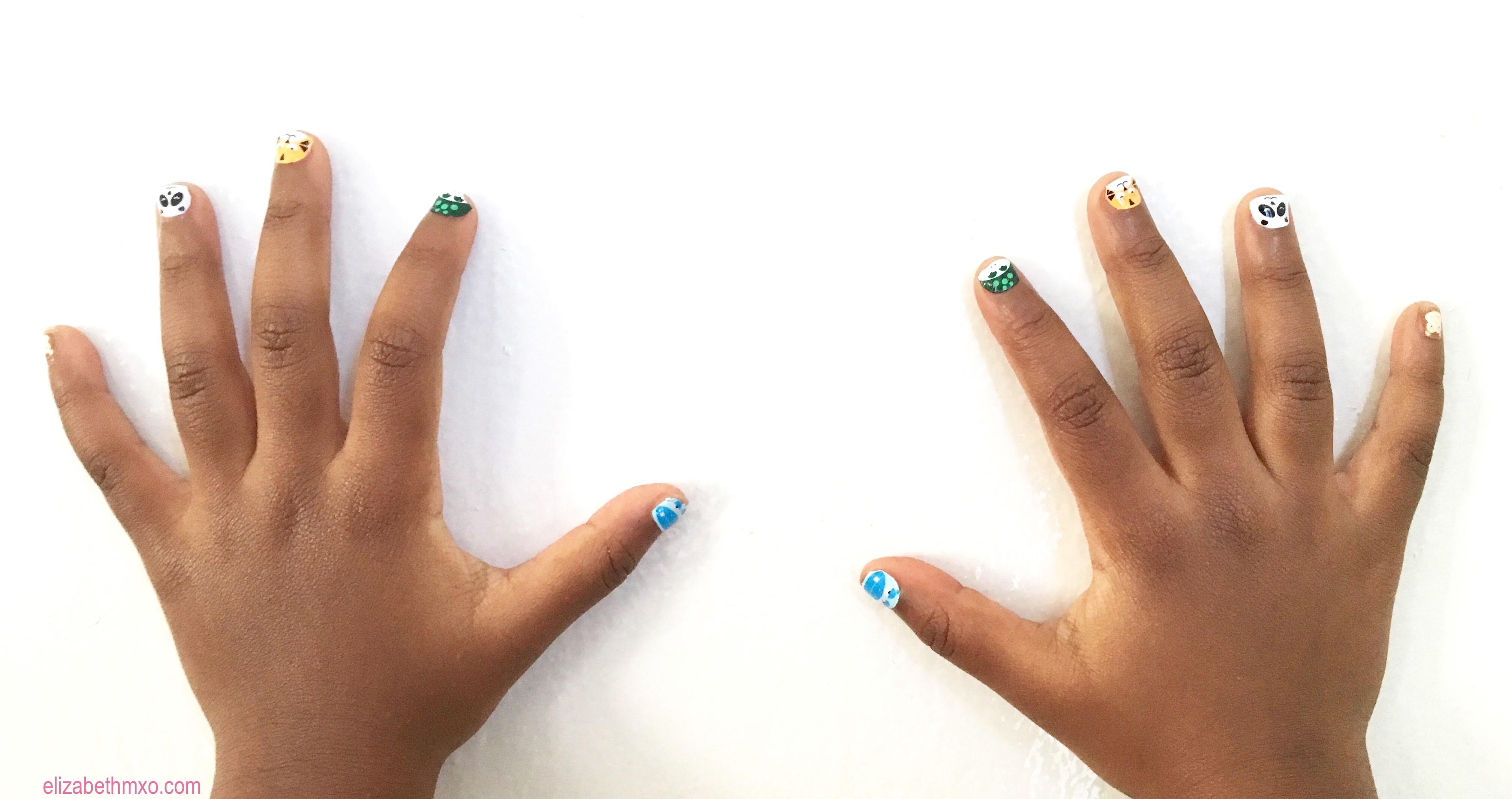 Nail Stickers for Kids - Elizabeth M xo